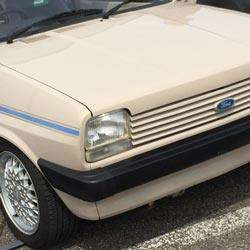 Fiesta Mk1 at Ford Fair 2015