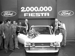 2 Millionth Mk1 Fiesta to be produced