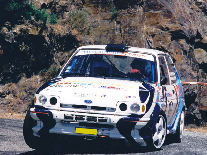 Michel Vuillemin U0026 39 S Rally Prepared Mk2 Ford Fiesta
