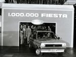 The Millionth Fiesta to be manufactured.