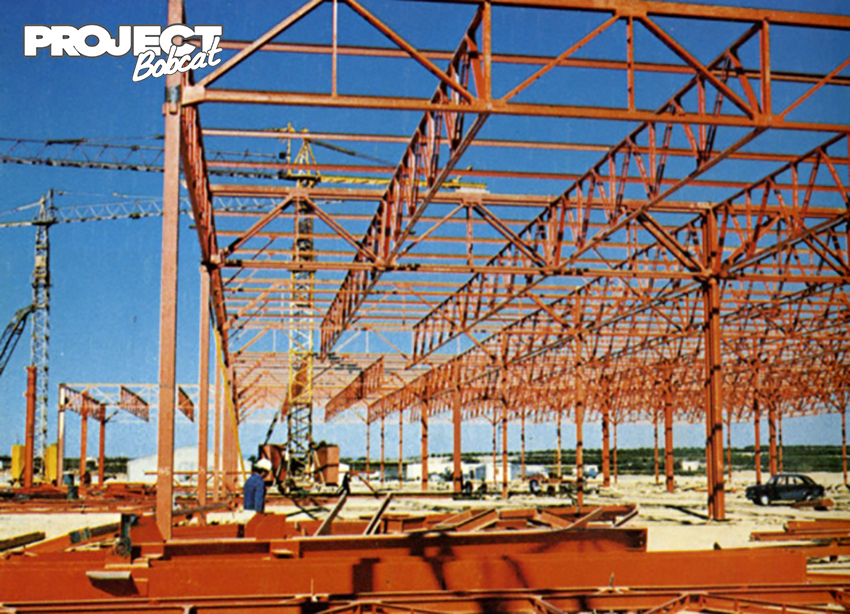 Construction of the Almussafes-Valencia plant