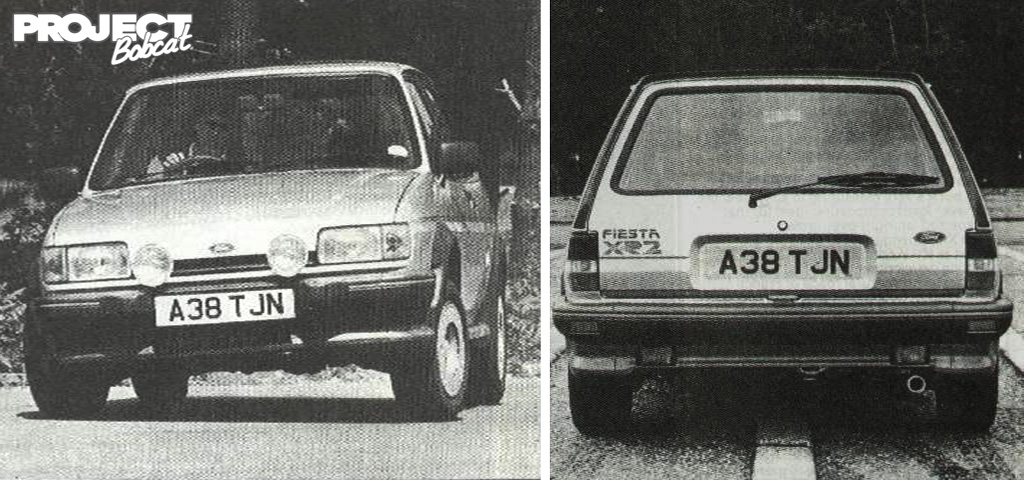 The Earliest Uk Fiesta Xr Mk Models To Be Registered Were The Ford Press Fleet In May  Having Been Built In April  Eg Build Date Code