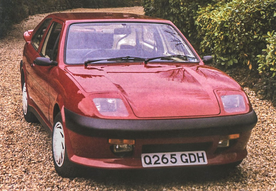 Quantum Mk1 Coupe Fiesta based kit car