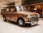 1968 mini covered in pennies