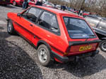 Rear view of Ford Fiesta XR2 A633DPY