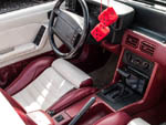 Fox mustang convertible leather interior