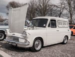 Ford anglia van Tautrau services JRV490F