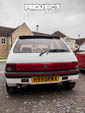 Brwon and gold Ford Cortina 2.0 Ghia PYP724R