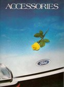 Ford Accessories Catalgoue 1987