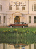Ford Cars Brochure August 1985