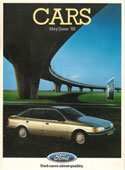 Ford Cars Brochure June 1985