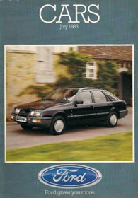 Ford Cars Brochure July 1983