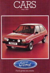 Ford Cars Brochure May 1983