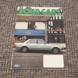 Ford Cars brochure April 1981