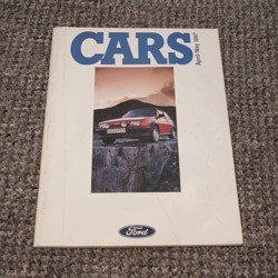 Ford Cars brochure April/May 1987