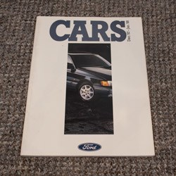 Ford Cars Brochure December 1987 to January 1988