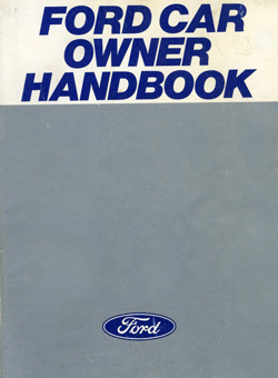 Ford Car Owner Handbook