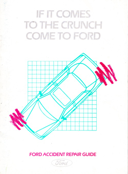 Ford Accident Repair Guide 1985