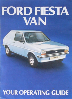 Mk1 Fiesta Van Operating Guide