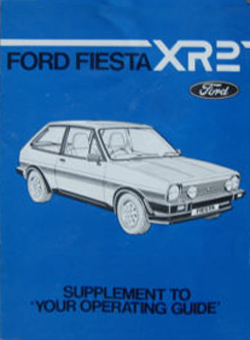 Mk1 Fiesta XR2 Supplement