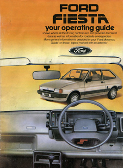 Ford Fiesta Your operating guide