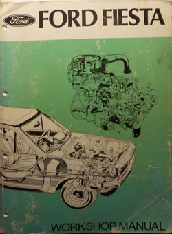 Mk1 Fiesta Ford Workshop Manual