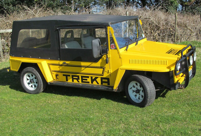 Spartan Treka Kit car