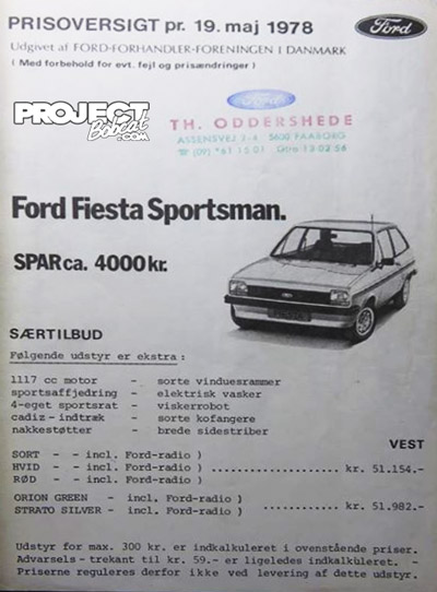 Ford Fiesta Sportsman