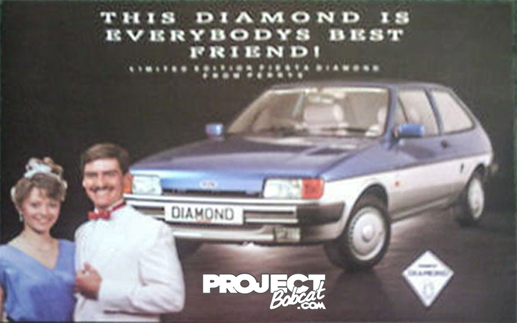 Mk2 Ford Fiesta Diamond Perrys dealership special