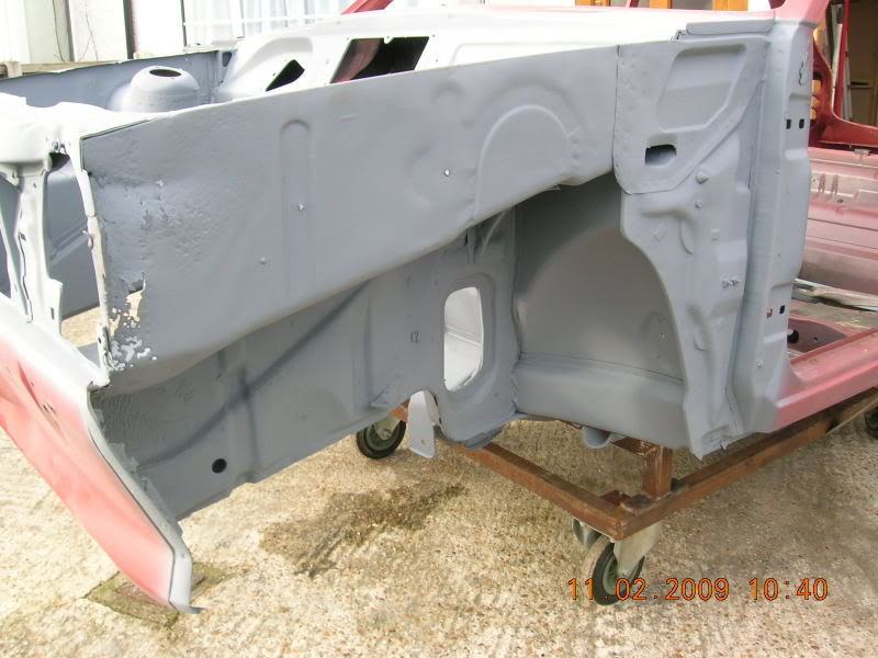 mk1 fiesta pitted inner wing