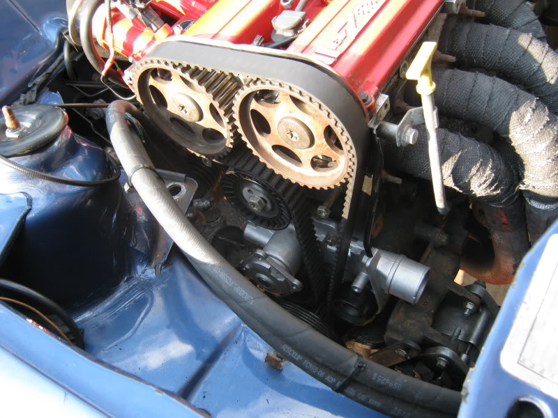 zetec engine with new cambelt