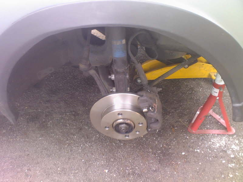 New ford Fiesta Mk1 discs and pads