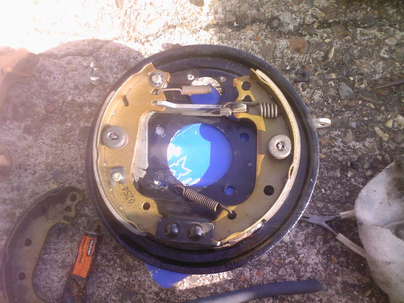 Mk1 Fiesta brake drum assembly