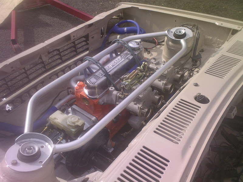 Crossflow engine fitted to a 1981 Fiesta