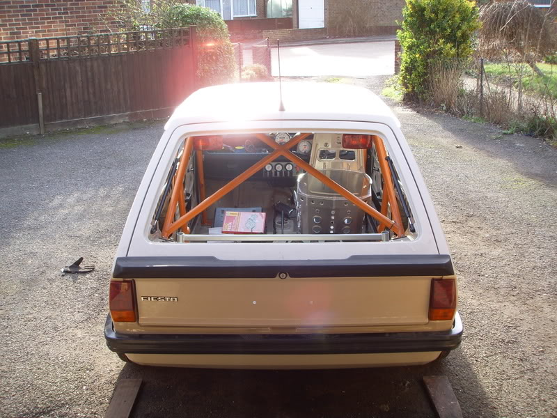 Ford Fiesta Mk1 XR2 rear spoiler