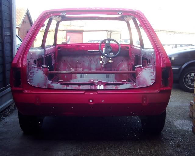 stripped out XR2 shell