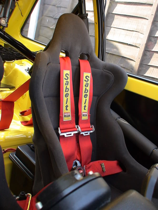 Ford RS200 seat