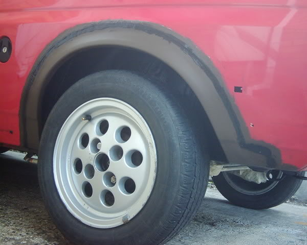replacement ford fiesta xr2 rear wheel arch