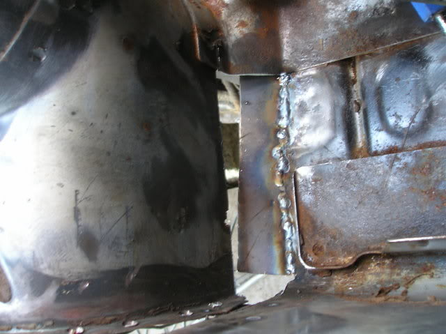 Mk1 Fiesta Strut tower repair