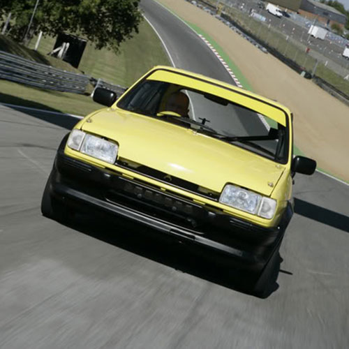 Yellow Track Mk2 Fiesta XR2 Project