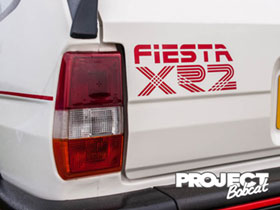 Fiesta XR2 boot sticker
