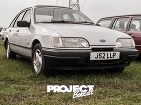 Ford Sierra J52LLP at Squires Cafe