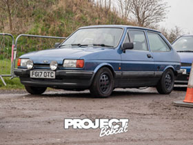 Mk2 Ford Fiesta 1.1 Ghia in Crystal Blue F617OTC