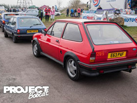 E63PAF XR2 at Squires Fordmeet