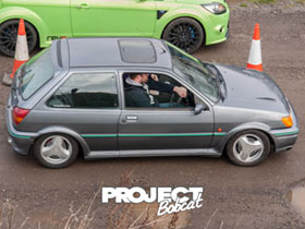 Mk3 Fiesta RS Turbo with 3 spoke alloys