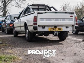 White Ford Sierra P100 Pickup J240LOW