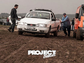 Ford Sierra P100 in the mud J240LOW
