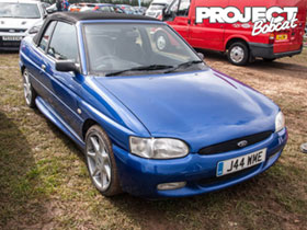 Ford Escort Mk6 convertible J44WME