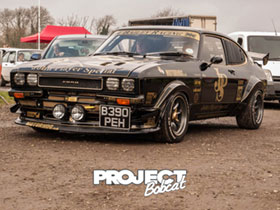 John Player special Ford Capri B390PEH