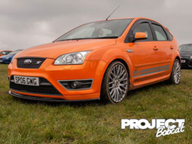 Orange Ford Focus ST SP06GWG